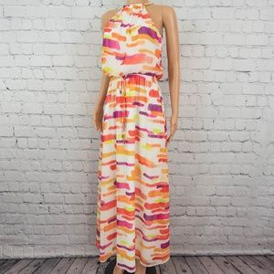 Vince Camuto colorful maxi dress